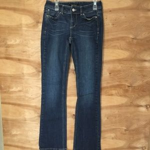 White House Black Market Women's sz 0  Blue Jeans